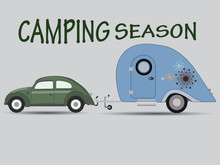 Caravan Camping Vacation/VW Be...