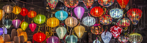 Photo  lanterns at Hoi An