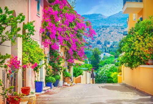 Ulica w Kefalonia, Grecja