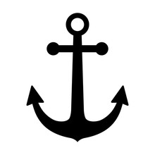 Ship Anchor Or Boat Anchor Fla...