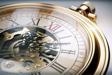 Vintage Gold Pocket Watch
