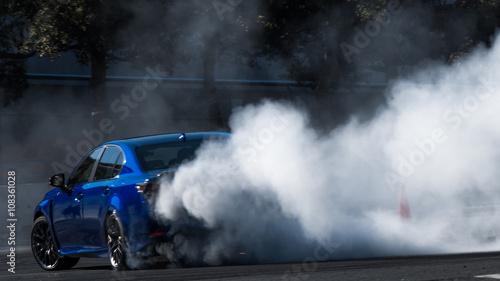 Fotografía Drift car