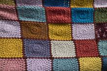 Colorful Handmade Crochet Blanket