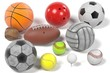 3d rendering of collection of balls