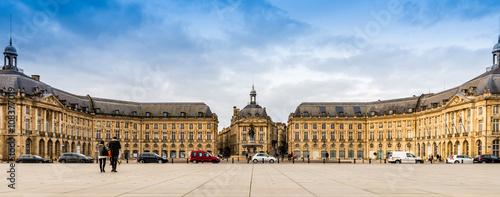 Place de la bourse à Bordeaux, Aquitaine en France Wallpaper Mural