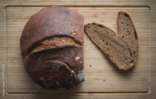 fototapeta na szkło selbstgemachtes Brot