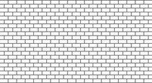 Vector White Brick Wall