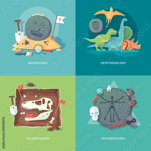 Photo Education and science concept illustrations