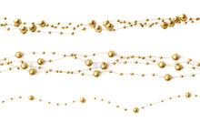 Line Of Beads Garland Thread I...