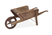 An Antique Wheelbarrow