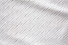 White Sports Clothing Fabric J...