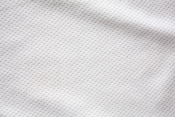 Fototapeta na wymiar White sports clothing fabric jersey