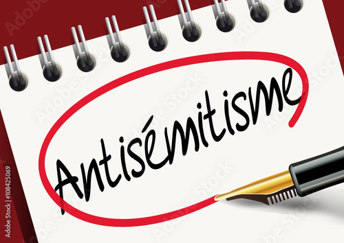 Antisemitisme Canvas Print