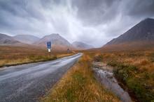 Glen Etive, Scottish Highlands.