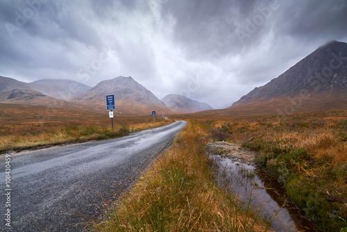 Photo  Glen Etive, Scottish Highlands.