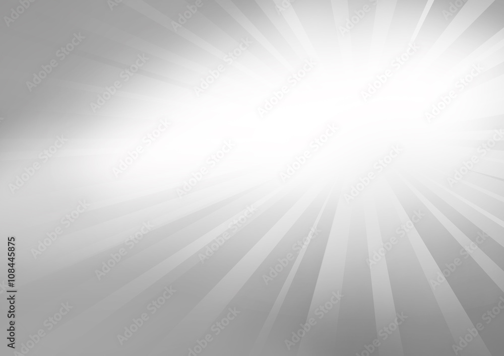 Fototapety, obrazy: silver background with spot or sunbeam