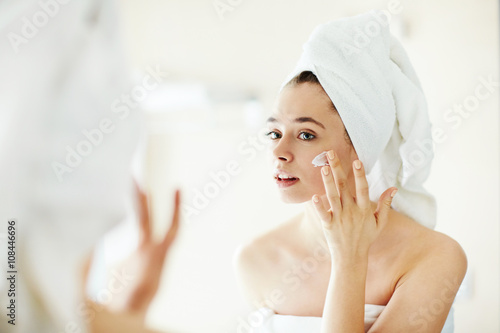 Pampering cream плакат