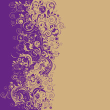 Decorative Abstract Background.
