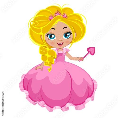 fototapeta na lodówkę Маленькая принцесса