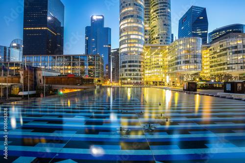 Foto op Plexiglas Parijs Les gratte-ciel de la Défense Paris