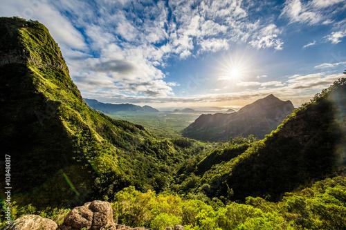 Kolekole Pass, Oahu, Hawaii