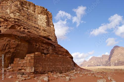 Photo  Wadi Rum - Jordan