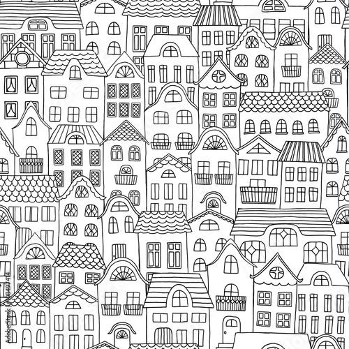 wrecza-patroszonego-bezszwowego-wzor-miasto-z-slicznymi-malymi-domami