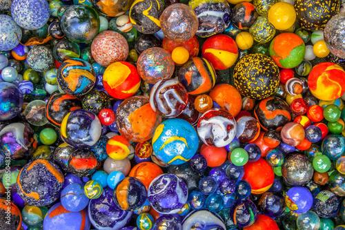 Leinwand Poster Marmor Vielfalt Hintergrund von Marmor in vielen Farben