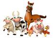 Farm animal collection