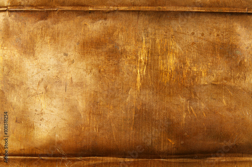 Fotografie, Obraz  Bronze sheet metal