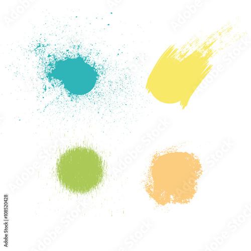 Fotografía  Macchie di colore e vernice