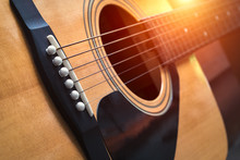 Detail Of Classic Guitar With ...