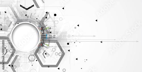 Fotografía  Abstract tech background
