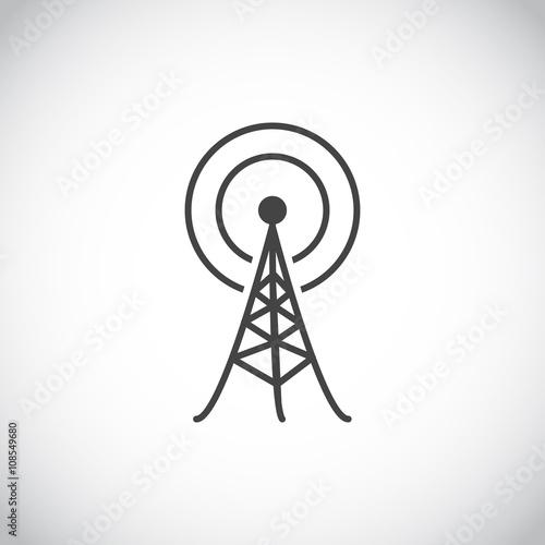 Fotografie, Tablou  Antenna icon