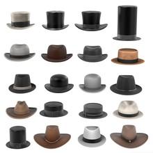 3d Renderings Of Male Hats