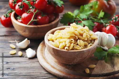 Photo  Sardinian uncooked pasta malloreddus