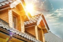 House Roof Attic Windows