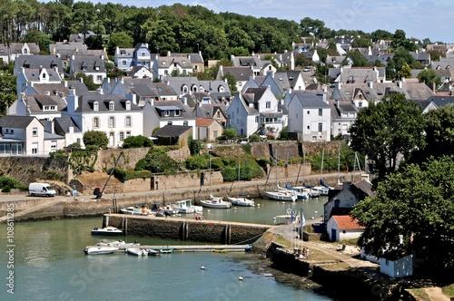 Tela  Village et port de Bono, Morbihan