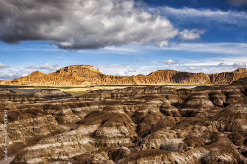 Bardenas Reales natural park in Navarra Spain, Game of thrones location