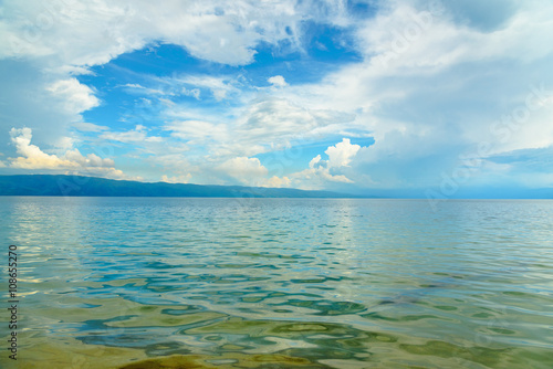 Poso lake. Indonesia