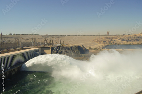 Photo sur Aluminium Barrage Aswan High Dam - Aswan - Egypt