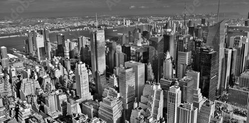 Photo  Midtown Manhattan Skyline (Black and White)