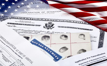 Immigration Documents With US ...