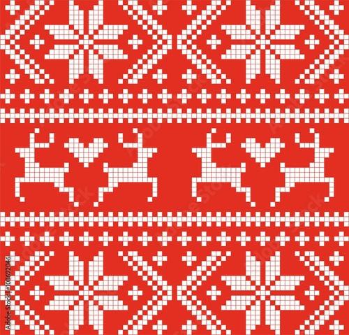 scandinavian-reindeer-seamless-pattern