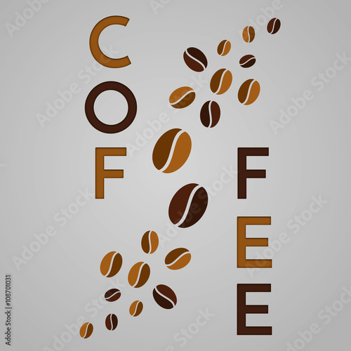 Abstract coffee background - 108701031