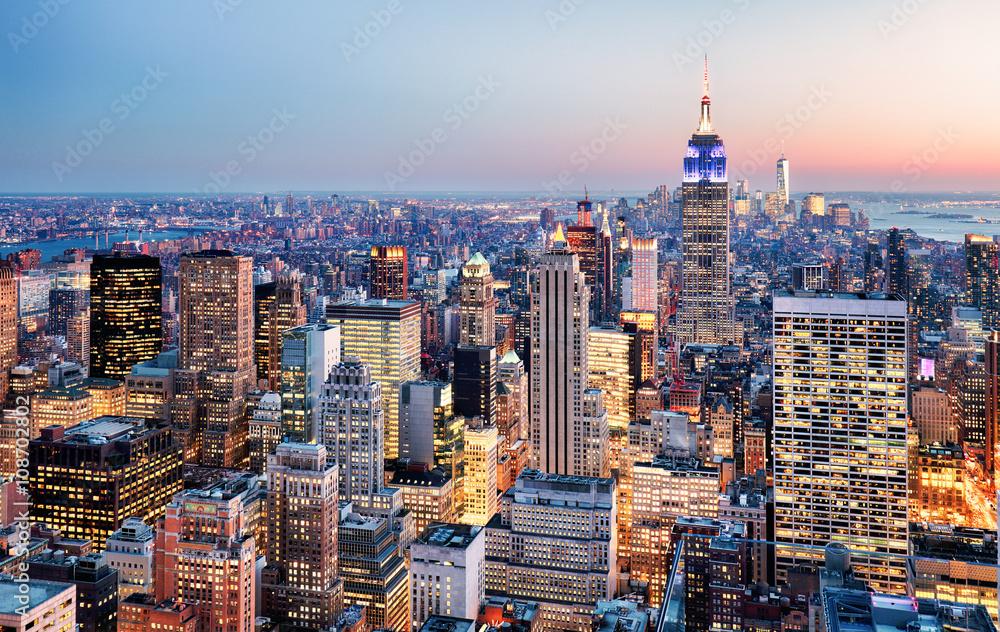 Fototapety, obrazy: New York City, USA
