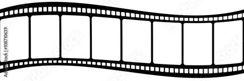 pellicule de film, fond blanc - Buy this stock illustration and
