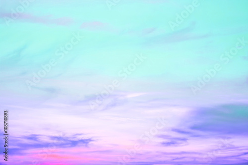 Fotografie, Obraz  A soft cloud background