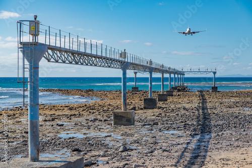 Valokuva  Boeing, 737-8KN, im Landeanflug auf Lanzarote