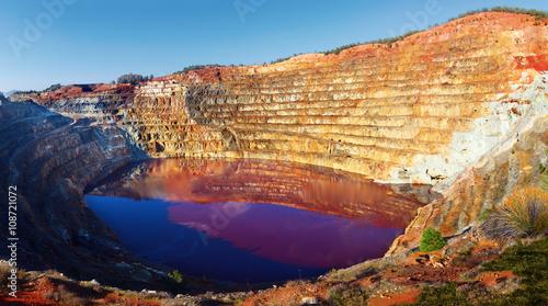 Corta Atalaya opencast mine, Huelva, Andalusia, Spain